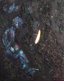 Bitumen, Warten, Figur, Licht