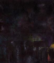 Hindernis, Schwarz, Wand, Nacht