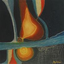 Stimmung, Erotik, Fluss, Malerei