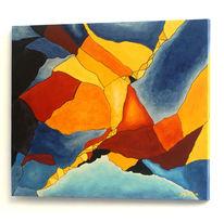 Gegenständlich, Ökogemälde, Abstrakt, Zeitgenössische malerei