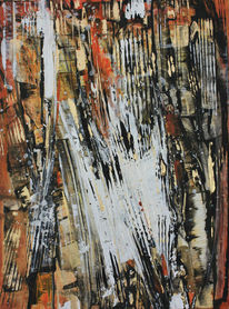 Acrylmalerei, Pinsel, Bewegung, Farben
