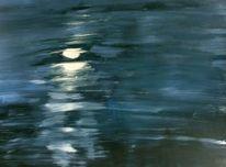 Meer, Mond, Licht, Nacht