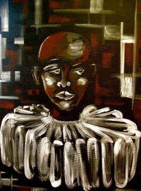 Menschen, Maske, Malerei, Mann