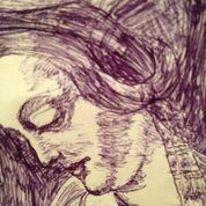 Kuli, Portrait, Malerei,