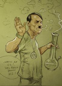 Führer, Zeichnung, Bong, Zeichnungen