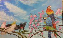 Malerei, Vogel