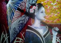 Geisha, Malerei
