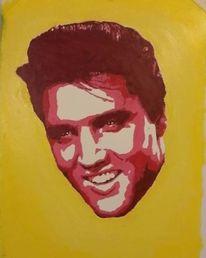 Presley, King, Malerei,