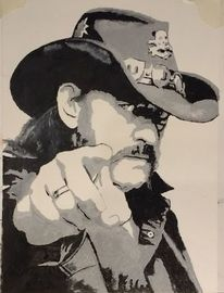 Lemmy, Kilmister, Portrait, Motörhead