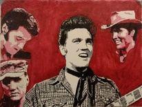 Elvis presley, Elvis, Malerei,