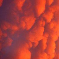 Abstrakt, Himmel, Wolken, Viereckig