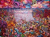 Fantasie, Malen, Landschaft, Malerei
