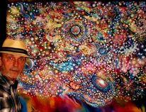 Malerei, Stern, Universum, Fantasie