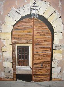 Tor, Mediterran, Eingang, Laterne