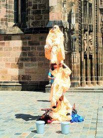 Gestaltung, Akrobatik, Aufführung, Figur