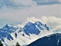 Schnee, Winter, Berge, Pamorama