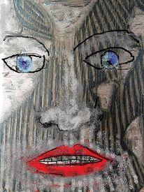 Druckstock, Struktur, Deutung, Portrait