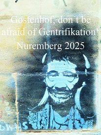 Graffiti, Botschaft, Bewerbung, Wand