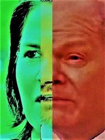 Mann, Politische farbenlehre, Frau, Synthese