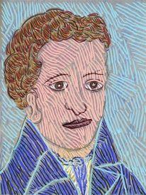 Kaspar hauser, Portrait, Kopf, Gesicht