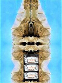 Collage, Digitale erweiterung, Fotografie, Utopie