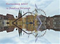 Nürnberg 2025, Schweben, Zukunft, Bewerbung