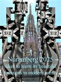 Kulturhauptstadt, Nuremberg 2025, Schöner brunnen, Moderne kunst
