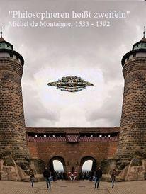 Zweifel, Flugkörper, Nürnberger burg, Philosophie