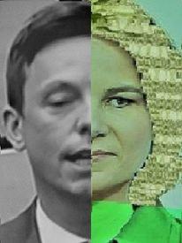 Politische farbenlehre, Synthese, Mann, Umfrage