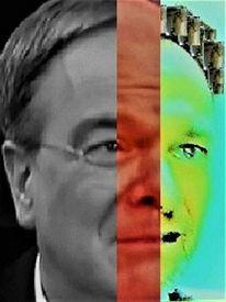 Mann, Umfrage, Politisch farbenlehre, Gesicht