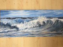 Welle, Meer, Malerei
