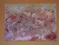 Abstrakt, Kraftvoll, Abstrakte malerei, Abstrakte kunst