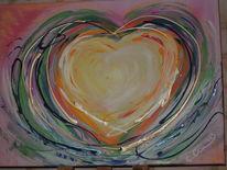 Freundlich, Abstrakte kunst, Abstrakt, Acrylmalerei