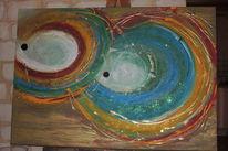 Freundlich, Spachteltechnik, Moderne kunst, Moderne malerei