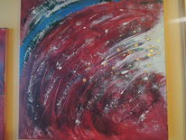 Edel, Abstrakte kunst, Acrylmalerei, Malerei
