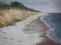 Ostseeküste strand dünen, Malerei, Strand