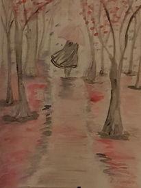 Frau Regen Zeichnung 5 Bilder Und Ideen Zeichnen Auf Kunstnet