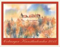 Kunstkalender coburg, Aquarelle kunstkalender, Coburger kunstkalender, Kunstkalender 2015