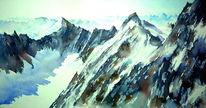 Mont blanc, Les droites, Messner, Alpfen