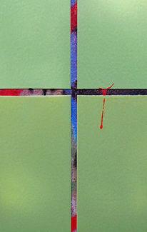 Fotografie, Kreuz, Rot schwarz, Grün