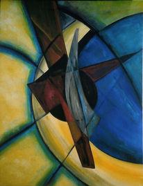 Malerei, Glas, Licht