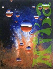 Blase, Acrylmalerei, Bubbels, Malerei
