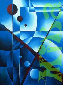 Fantasie, Abstrakt, Acrylmalerei, Malerei