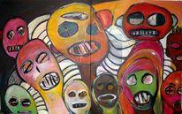 Experimentelle malerei, Malerei, Zaum