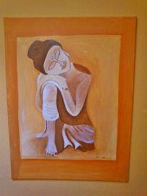 Strahlen, Malerei, Ruhe, Sinnlichkeit