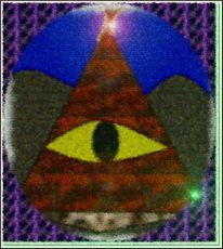 Abstrakt, Augen, Weisheit, Digitale kunst