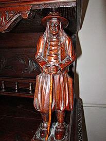 Mann, Holz, Mittelalterlich, Möbel