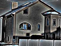 Haus, Geist, Digitale kunst