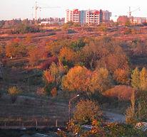 Romantisch, Herbst, Abend, Ternopil