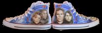 Airbrush, Stern, Schuhe, Portrait